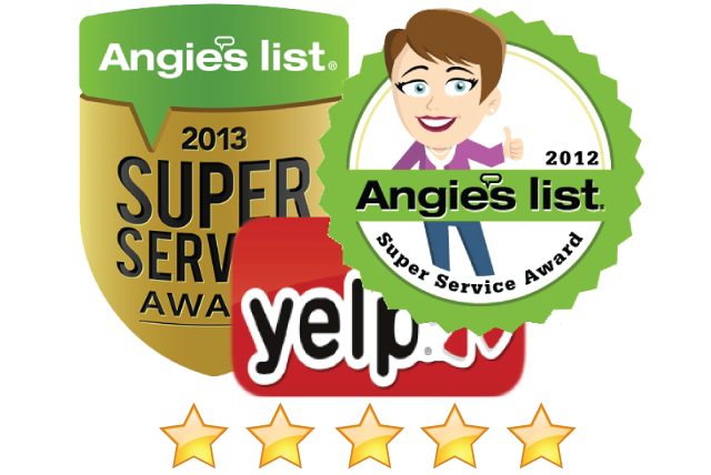 Best appliance repair companies on Angieslist and Yelp